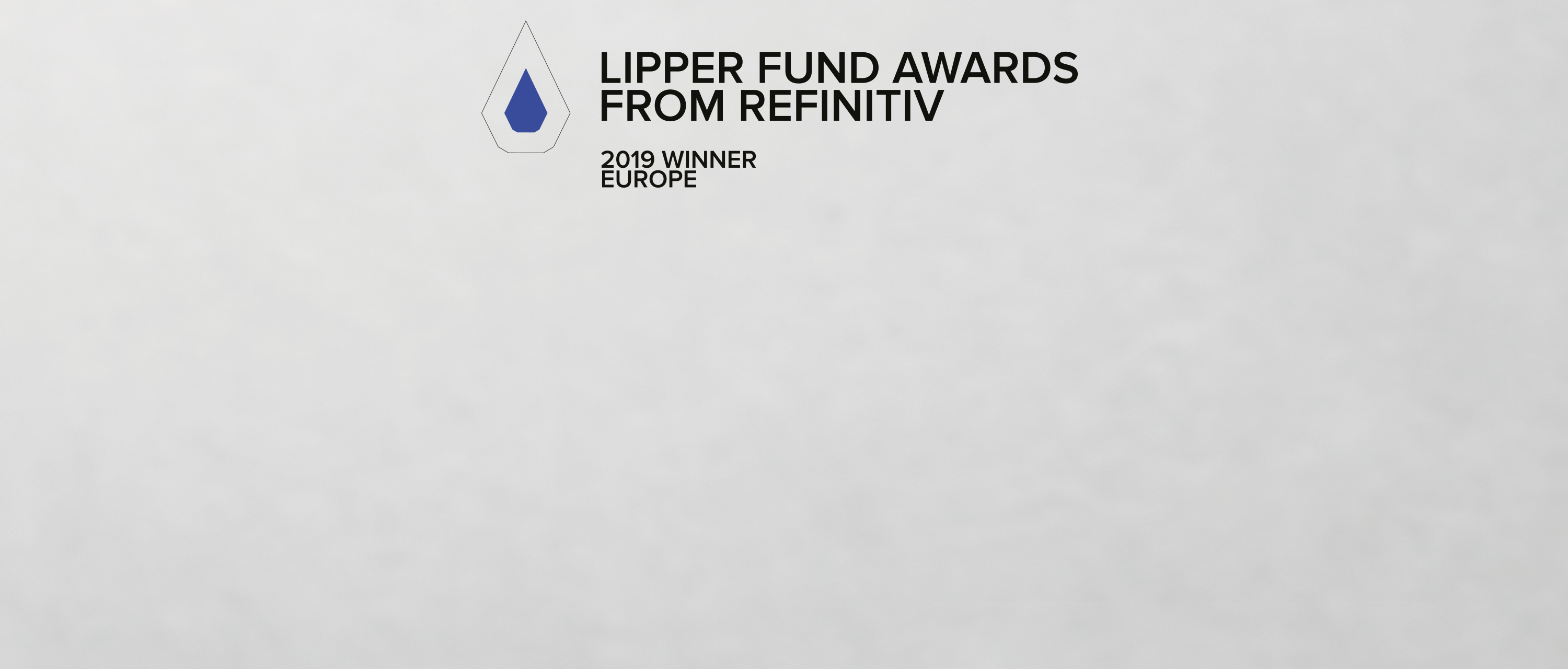 Lipper Award Europe 2019