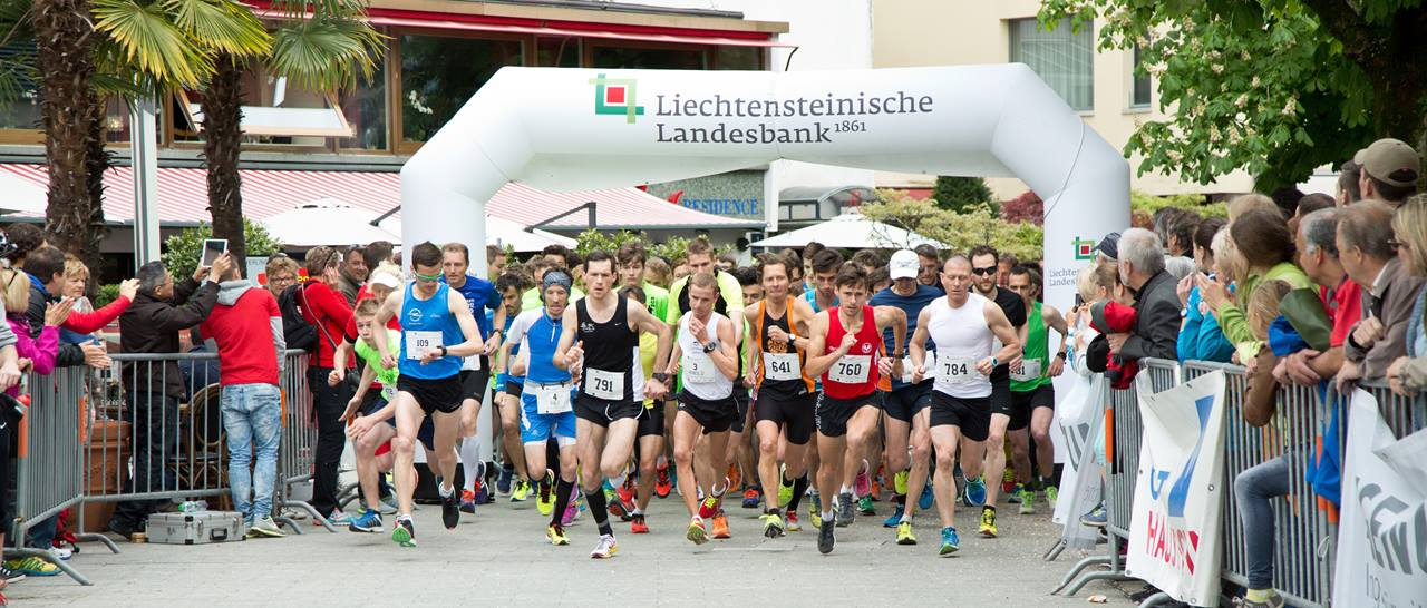 Start at Vaduzer Städtlelauf